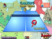 Smurfs table tennis fi�s j�t�kok ingyen